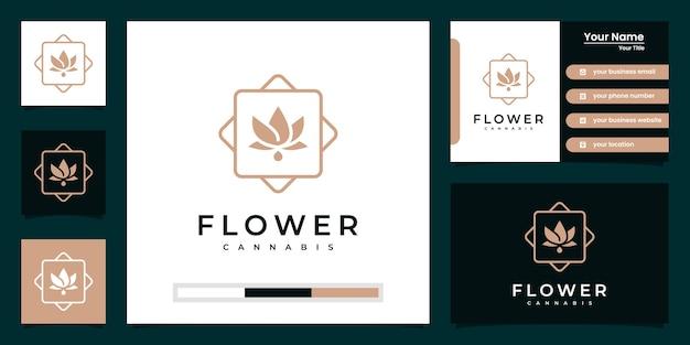 Minimalist elegant flower rose salón de belleza de lujo, moda y cuidado de la piel