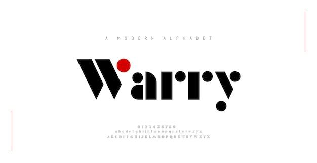 Minimalista moderno alfabeto fuentes tipografía minimalista urbano moda digital futuro creativo logo fuente