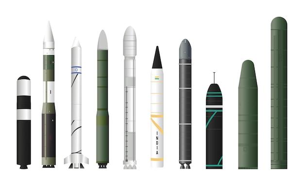 Los misiles balísticos intercontinentales más potentes y rápidos del mundo.
