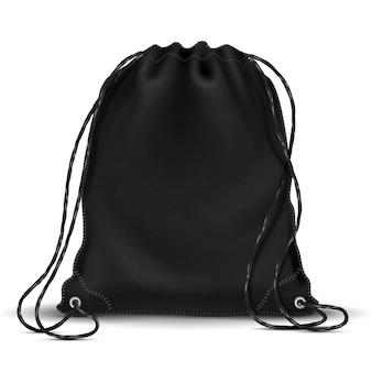 Mochila deportiva, mochila con cordones.