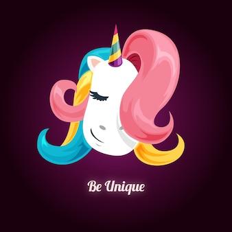 Moda lindo unicornio