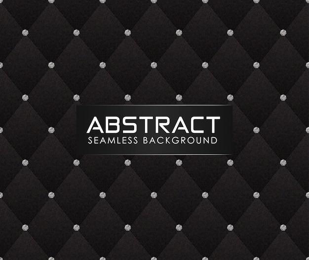 Modelo abstracto del sofá con texturas de papel patrón poligonal con diamantes