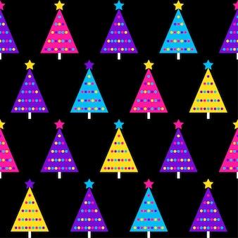 Modelo inconsútil abstracto. fondo de muestra moderno para tarjeta de cumpleaños, invitación a fiesta infantil, papel tapiz, papel de regalo navideño, cartel de venta de tienda, tela, estampado de bolsa, camiseta, publicidad de taller