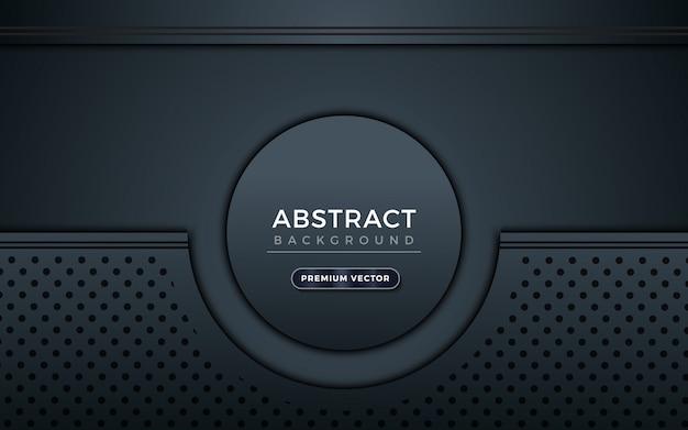 Moderno fondo abstracto gris y negro.