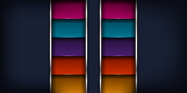 Moderno lujoso de extracto dinámico con diseño futurista y fondo de estilo 3d