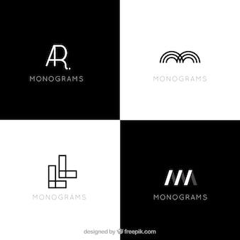 Modernos logotipos abstractos
