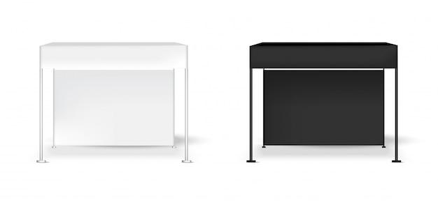 Mofa 3d para arriba tienda de exhibición de carpa realista exhibición de pop stand