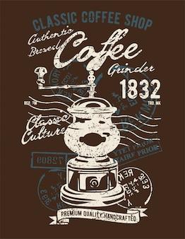 Molinillo de café clásico