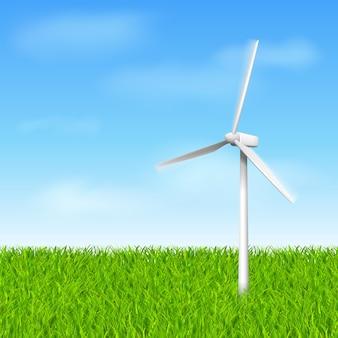 Molino de viento ecológico