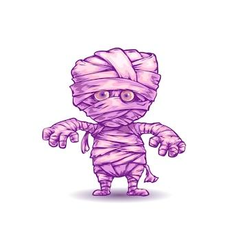 Momia de dibujos animados