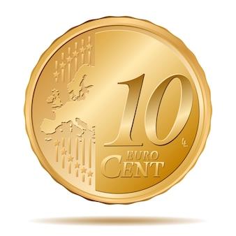 Moneda de diez céntimos de euro