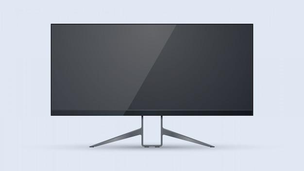 Monitor 4k de pantalla panorámica