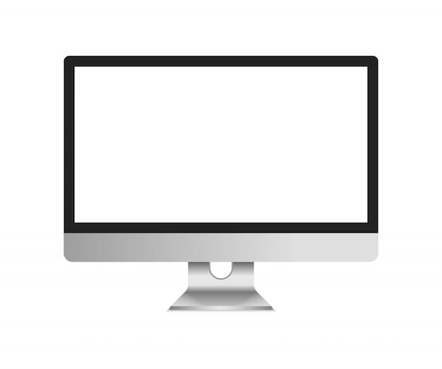 Monitor de la computadora de pantalla