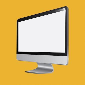 Monitor de la ilustración de la computadora