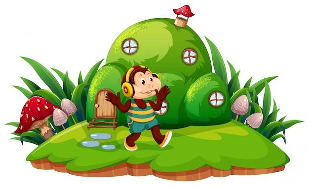 Monkey inn fantasy land