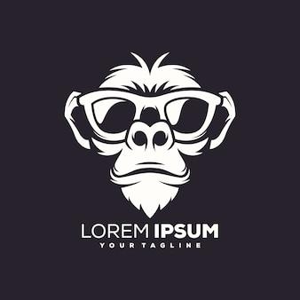 Mono logo vector de diseño