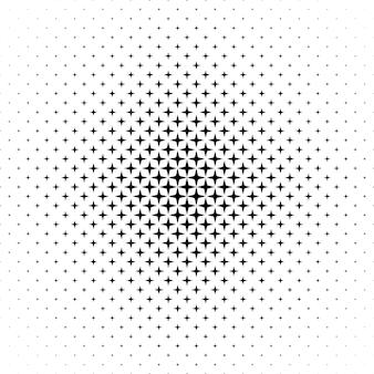 Monocromo estrella patrón - vector de fondo