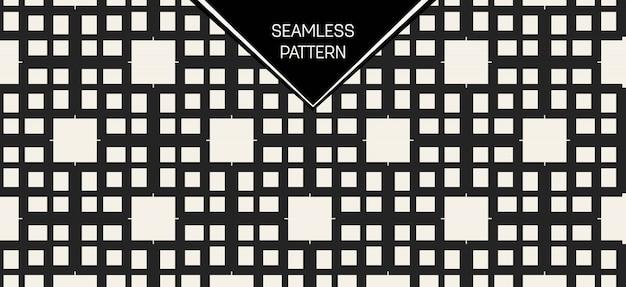 Monocromo geométrico de patrones sin fisuras.