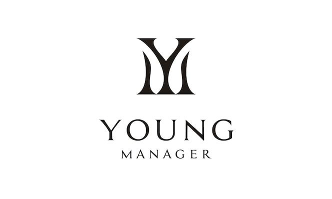 Monogram / iniciales ym logo design inspiration