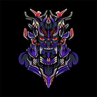 Monstruo samurai