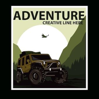 Montaña de aventura