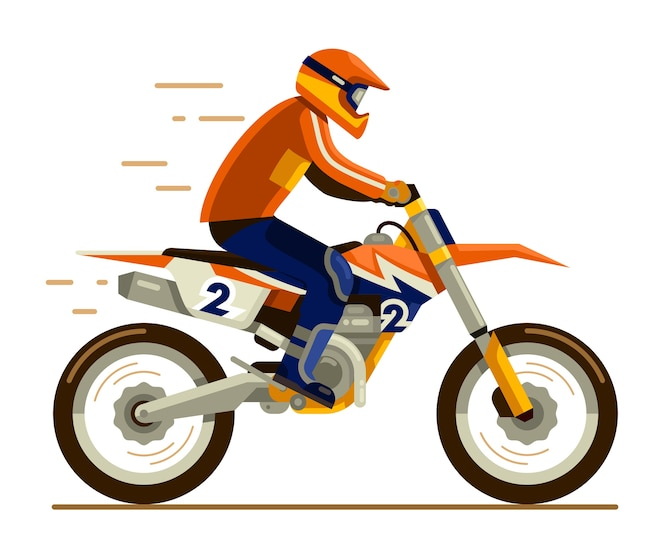 Montar en motocross