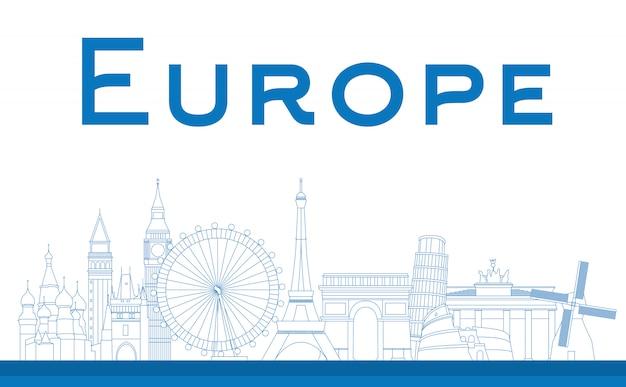 Monumentos famosos en europa