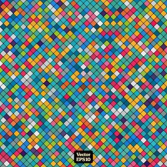 Mosaico abstracto coloreado para su diseño de fondo.