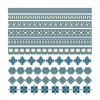 Mosaico coloreado abstracto