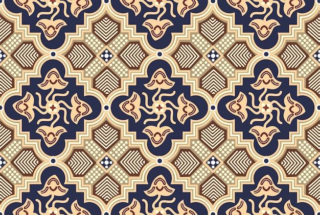 Motivo de batik de indonesia