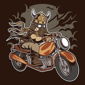 Motocicleta viking