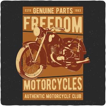 Motocicleta vintage