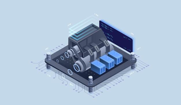 Motor web, herramientas de programación. desarrollo de software.