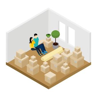 Moverse en la ilustración