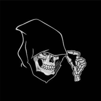Muerte reaper head