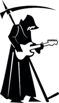 La muerte toca la guitarra