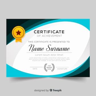 Muestra certificado
