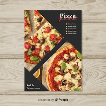 Muestra flyer pizza