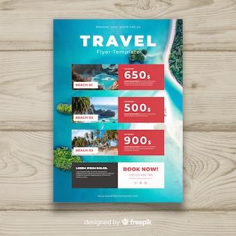 Muestra folleto viajes fotográfico