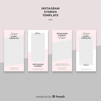 Muestra historia instagram simple
