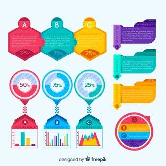 Muestra infografía