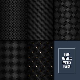 Muestras de patrón de fibra de carbono