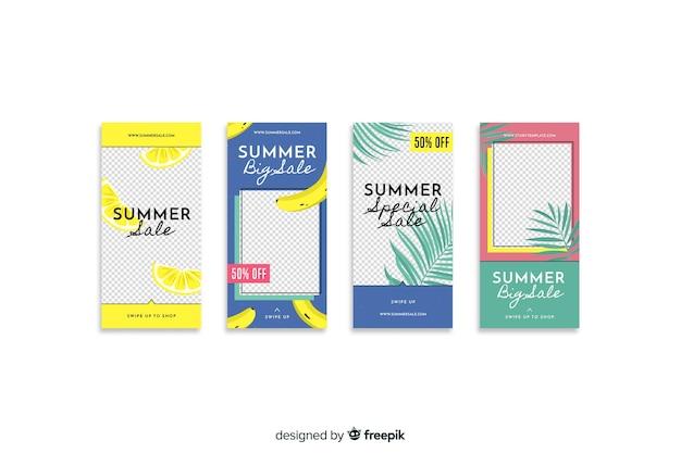 Muestras stories instagram rebajas de verano