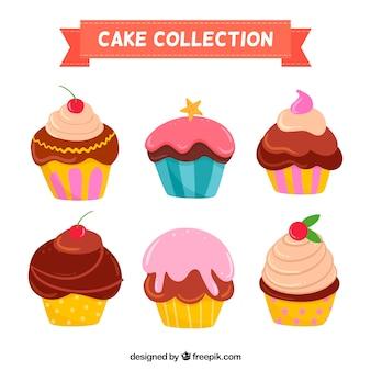 Muffins de cumpleaños