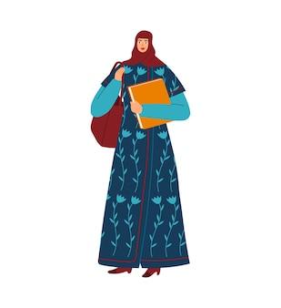 Mujer estudiante universitaria, educación universitaria