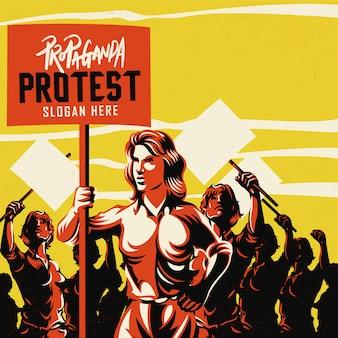 Mujer, tenencia, cartel