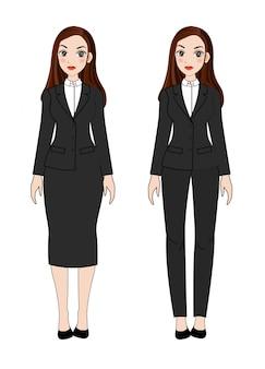 Mujer en uniforme