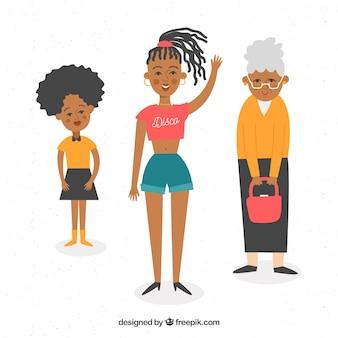 Mujeres negras de diferentes edades