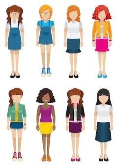 Mujeres sin rostros