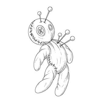 Muñeco de vudú.